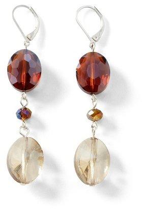 White House Black Market Auburn/Neutral Linear Earring