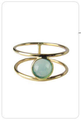 Ariel Gordon Jewelry Rose Cut Opal Ring