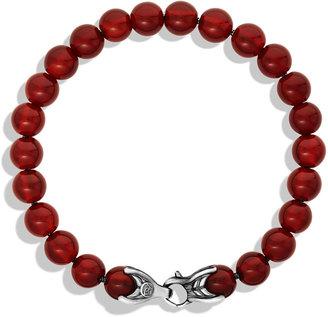 David Yurman Spiritual Beads Bracelet with Carnelian