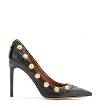 Valentino Gryphon Studs leather pumps
