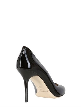 Jimmy Choo 85mm Gilbert Patent Leather Pumps