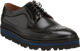 Barneys New York CO-OP Stacked Sole Wingtip Blucher