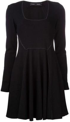 Proenza Schouler contour panel dress