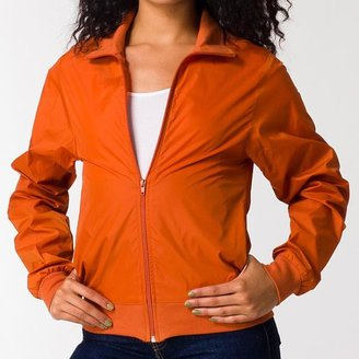 American Apparel Unisex Burnt Orange Nylon Taffeta Windbreaker $34.99 thestylecure.com