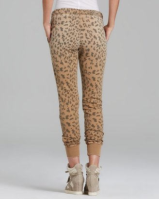 Current/Elliott Sweatpants - Leopard Perfect