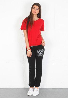 Lauren Moshi Demi Tennis Pant in Black