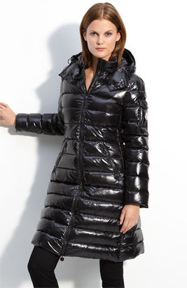 Moncler 'Moka' Quilted Down Coat