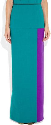 Roksanda Ilincic Eloise paneled wool maxi skirt