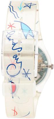 American Apparel Vintage Swatch Flowers Watch