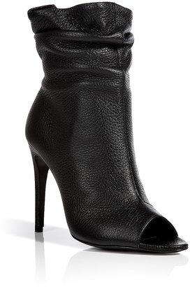 Burberry Shoes & Accessories Leather Burlison Open Toe Ankle Boots