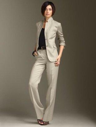 Talbots Kate Fit Twill linen jacket