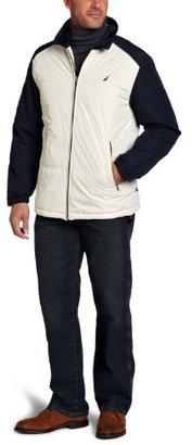 Nautica Men's Transitional Weight Sherpa Bomber Jacket
