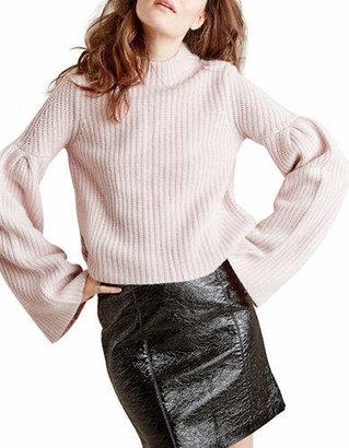 Autumn Cashmere Cropped Cashmere-Blend Sweater