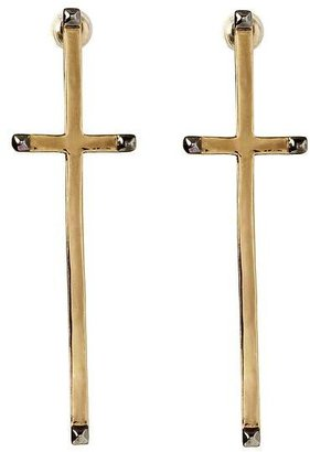 House Of Harlow Long Cross Earring
