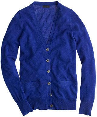 J.Crew Collection cashmere boyfriend cardigan sweater