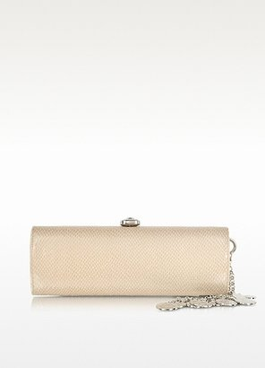 Moschino Embossed Eco Leather Clutch