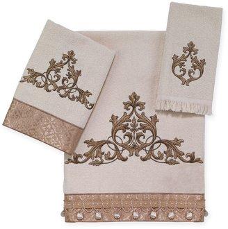 Avanti Monaco Bath Towel Collection in Ivory