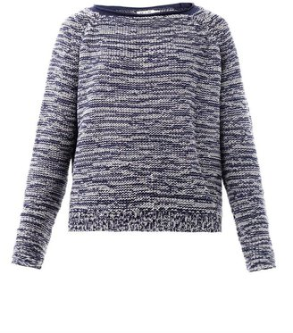 MiH Jeans Ribbon-weave sweater