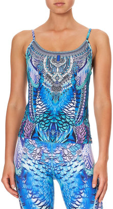 Camilla Scoop-Neck Fitted Active Tank