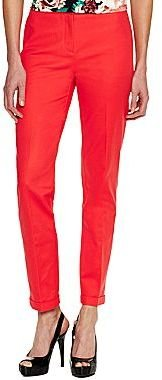 JCPenney Worthington® Slim Belted Pants - Tall