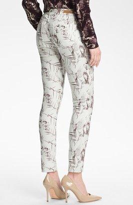 Rachel Roy Skinny Stretch Ankle Jeans (White Multi) Womens White Multi Size 27 27