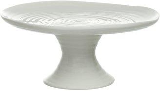 Sophie Conran for Portmeirion Footed Cake Plate, White, Dia.24cm