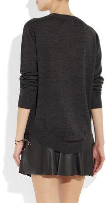 Markus Lupfer Lips sequined merino wool sweater
