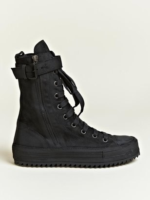 Ann Demeulemeester Men's Scamosciato High Top Trainers