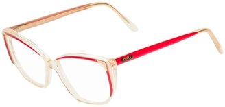 Emilio Pucci Pre-Owned Oval Glasses