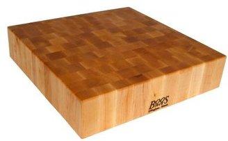 """John Boos & Co.® Maple End-Grain Chopping Block, 24"""" x 24"""" x 6"""""""