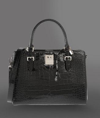 Giorgio Armani Large bag in printed calfskin