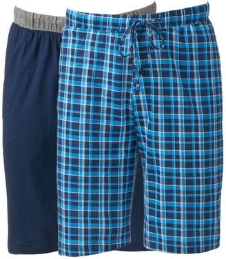 Hanes Men's 2-pack Sleep Shorts