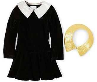 JCPenney Little MavenTM by Tori Spelling Velvet Dress - Girls 12m-5y