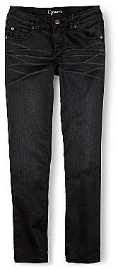i jeans by Buffalo Black-Coated Skinny Jeans - Girls 7-16