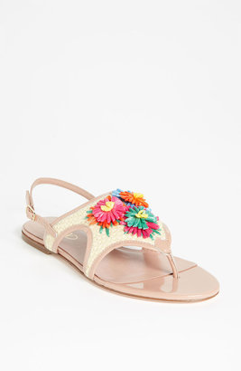RED Valentino Embroidered Sandal