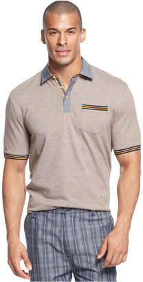 Sean John Big & Tall Shirt, The Mixer Polo Shirt