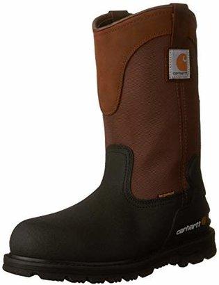 "Carhartt Men's 11"" Wellington Waterproof Steel Toe Pull-On Work Boot CMP1259"