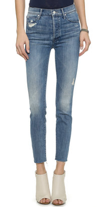 MOTHER Stunner Ankle Fray Jeans $228 thestylecure.com