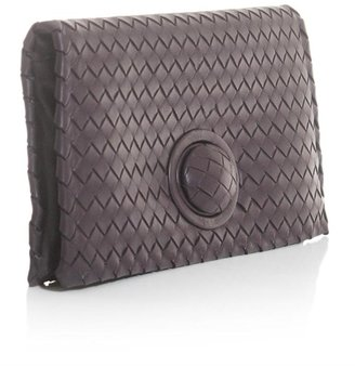 Bottega Veneta Intrecciato woven leather clutch