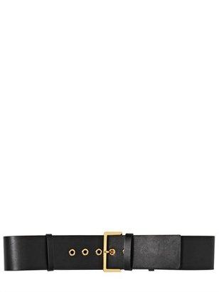 Marni High Waist Leather Belt