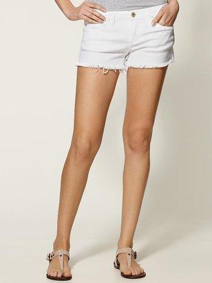 Blank Semi-fit Short with Raw Hem