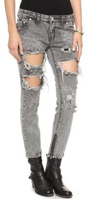 One Teaspoon Melrose Trashed Jeans