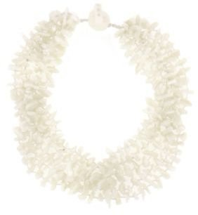 Lord & Taylor Mother of Pearl Collar Necklace
