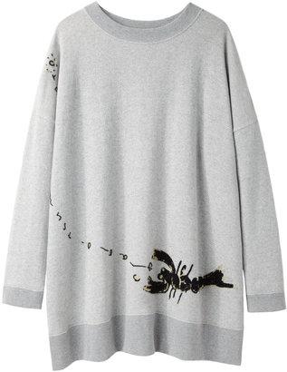 Tsumori Chisato lobster sweatshirt