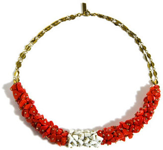 Isabel Marant Palace Hotel clusted bead necklace
