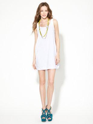 American Apparel Cotton Scoop Back Tank Dress