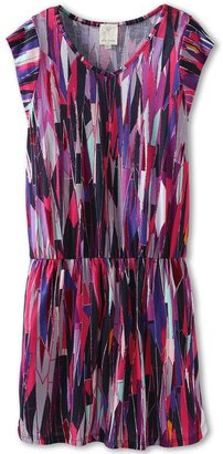 Ella Moss Stained Glass Dress (Big Kids) (Fuschia) - Apparel