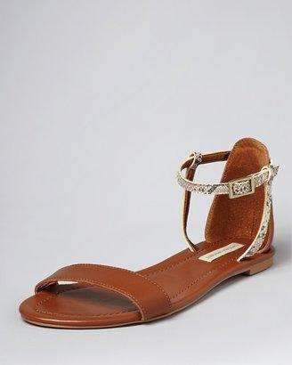 Cynthia Vincent Flat Open Toe Sandals - Frida