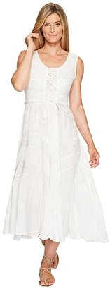 Scully Honey Creek Amelie Dress (Ivory) Women's Dress