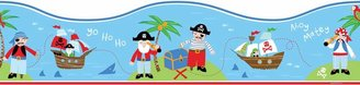 Pirates Peel & Stick Wall Decal Border